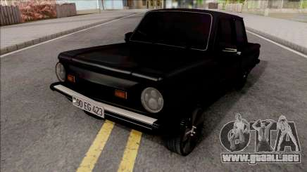 ZAZ 968M Optimización Negro para GTA San Andreas