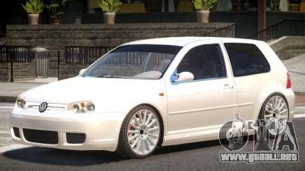 Volkswagen Golf 4 V1.1 para GTA 4