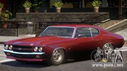 Chevrolet Chevelle SS V1.0 para GTA 4