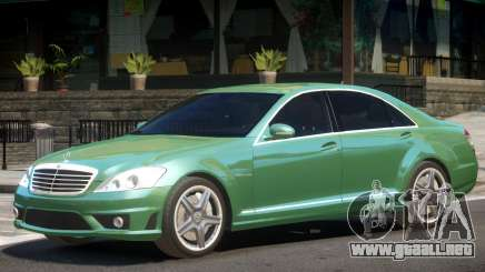 Mercedes S65 V1.2 para GTA 4