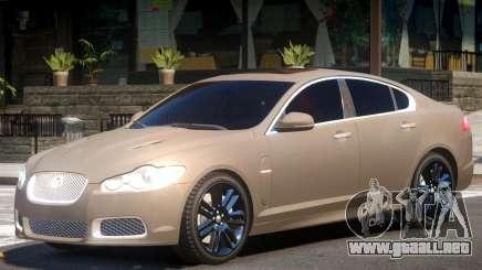 Jaguar XFR V1.2 para GTA 4