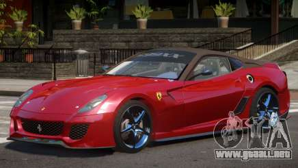 Ferrari 599XX Y12 para GTA 4