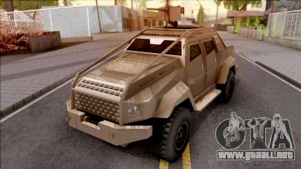 GTA V HVY Insurgent Pick-Up SA Style para GTA San Andreas