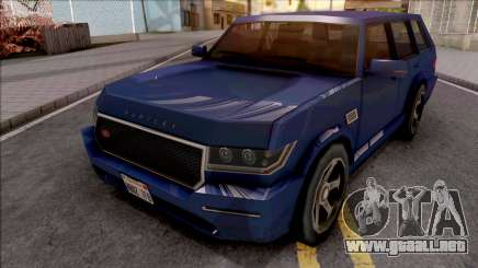 Vapid Huntley V8 Sport VR 4.8i 2016 Low Poly para GTA San Andreas
