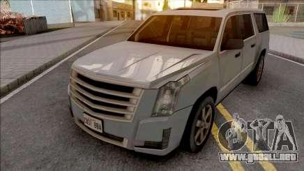 Cadillac Escalade 2016 Lowpoly para GTA San Andreas