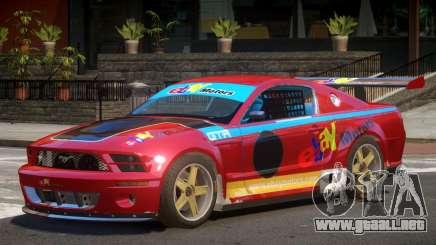 Ford Mustang GT-R V1 PJ2 para GTA 4