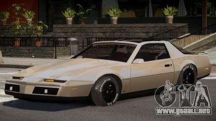 1982 Pontiac Trans Am para GTA 4