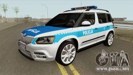 Skoda Yeti (Policja KSP) para GTA San Andreas
