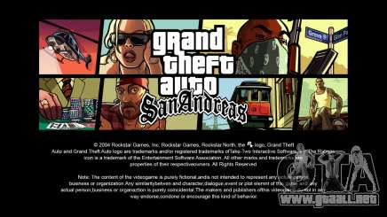 Pantallas de carga en HD para GTA San Andreas