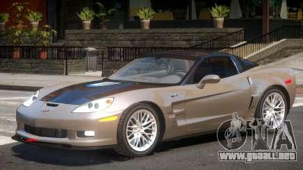Chevrolet Corvette ZR1 V1.3 para GTA 4