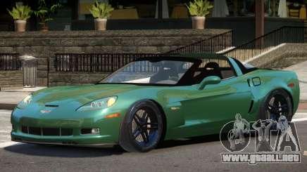 Chevrolet Corvette Z06 Spider para GTA 4