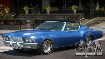 1972 Buick Riviera V1.0 para GTA 4