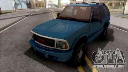 GMC Jimmy 2001 para GTA San Andreas