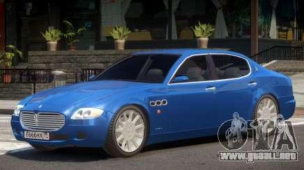 Maserati Quattroporte V1.0 para GTA 4