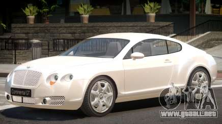 Bentley Continental Tun para GTA 4