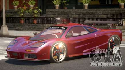 Mc Laren F1 V1.0 para GTA 4