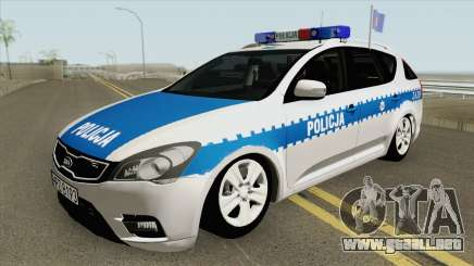 Kia Ceed SW I (Policja KSP Warszawa) para GTA San Andreas