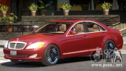 Mercedes S-Class V1 para GTA 4