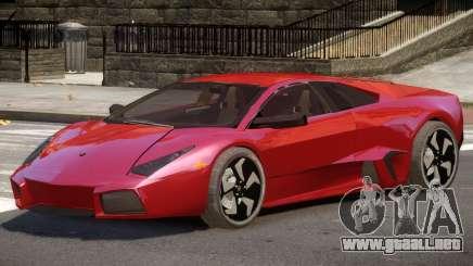 Lamborghini Reventon ST para GTA 4