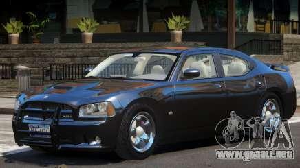 Dodge Charger FBI para GTA 4