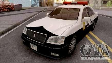 Toyota Crown S170 Patrol Car SA Style para GTA San Andreas