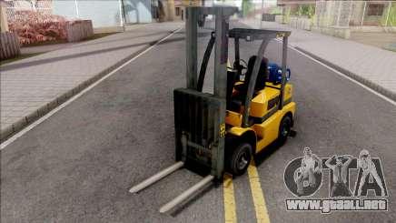 GTA V HVY Forklift IVF Style para GTA San Andreas