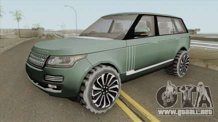 Range Rover SVAutobiography (MQ) para GTA San Andreas