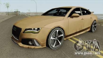 Audi RS7 2014 (Black Interior) para GTA San Andreas