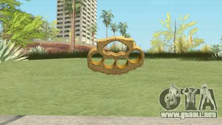 Knuckle Dusters (The Hater) GTA V para GTA San Andreas