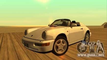 Porsche 911 Speedster Carrera 2 964 1993 para GTA San Andreas