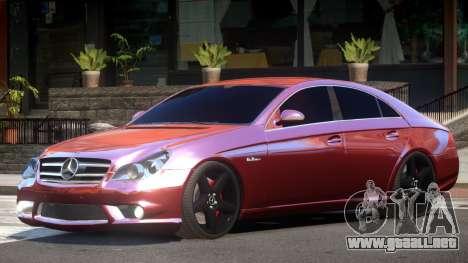 Mercedes Benz CLS 63 AMG V1.0 para GTA 4