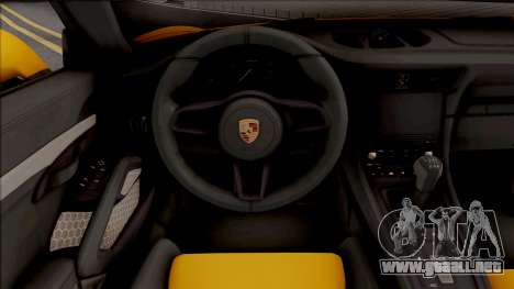 Porsche 911 Speedster 2020 para GTA San Andreas