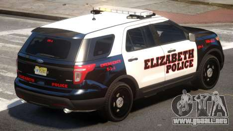 Ford Explorer Police V.0 para GTA 4