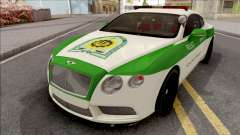 Bentley Continental GT Iranian Police