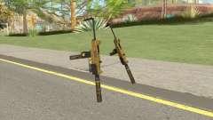 Micro SMG (Luxury Finish) GTA V Two Upgrades V10 para GTA San Andreas