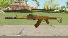 Assault Rifle GTA V (Two Attachments V11) para GTA San Andreas