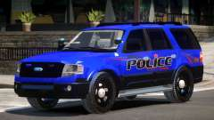 Ford Expedition Police V1.2 para GTA 4