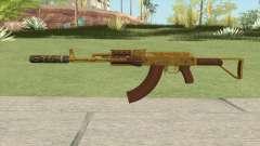Assault Rifle GTA V (Two Attachments V10) para GTA San Andreas