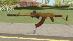 Assault Rifle GTA V (Three Attachments V6) para GTA San Andreas