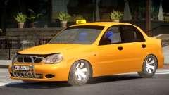 Daewoo Lanos Taxi V1.0 para GTA 4