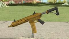 Carbine Rifle GTA V (Luxury Finish) Base V3 para GTA San Andreas
