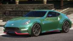 Nissan 370Z GT Nismo para GTA 4