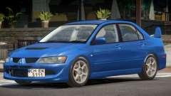 Mitsubishi Lancer Evolution 8 Tuned para GTA 4