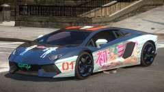 Lamborghini Aventador RS PJ3 para GTA 4