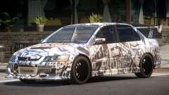 Mitsubishi Lancer Evolution 8 RS J5 para GTA 4