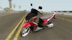 Yamaha Soul GT Babylook para GTA San Andreas