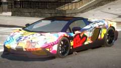 Lamborghini Aventador STR PJ1 para GTA 4