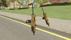 Micro SMG (Luxury Finish) GTA V Base V3 para GTA San Andreas