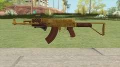 Assault Rifle GTA V (Three Attachments V8) para GTA San Andreas