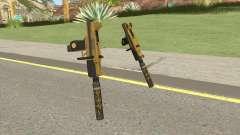 Micro SMG (Luxury Finish) GTA V Suppressor V1 para GTA San Andreas